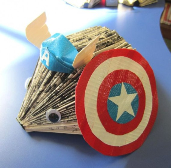 Teen Crafternoon: Superhero Hedgehogs @ Municipal Center | Grafton | Massachusetts | United States
