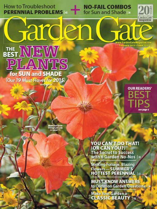 North Tonawanda Public Library NEW Garden Gate Magazine at the