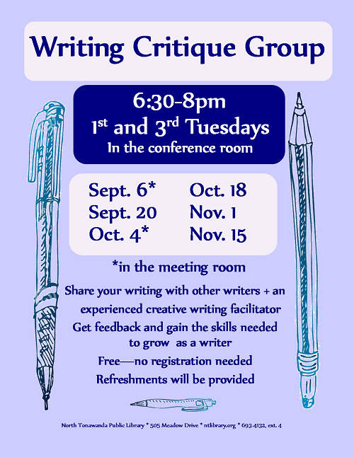 Finally, a writing group that works!